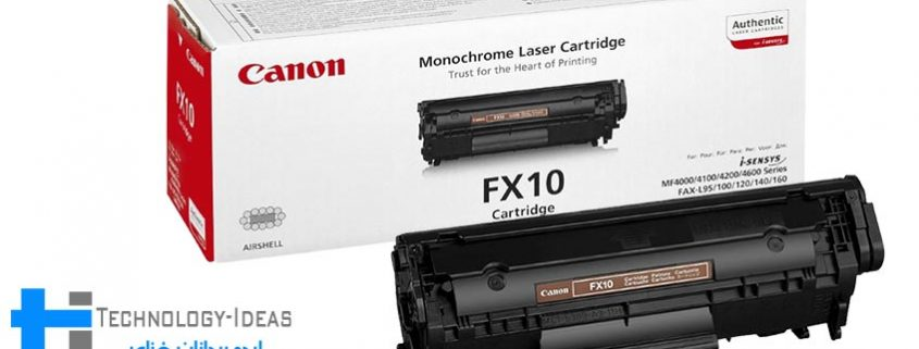 شارژ کارتریج Canon FX10