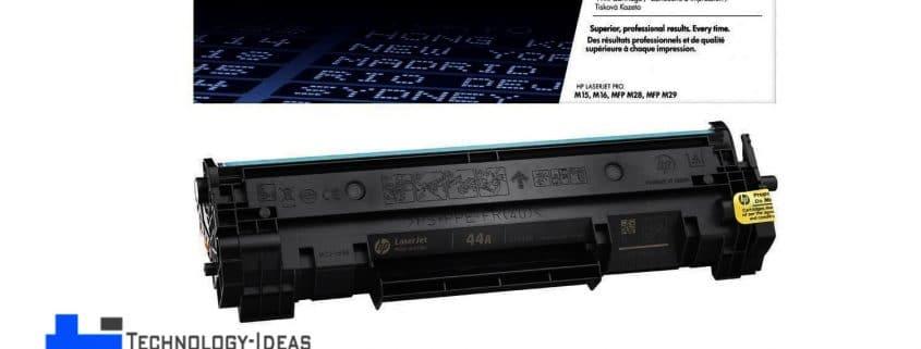شارژ کارتریج لیزری اچ پی HP 44A در محل