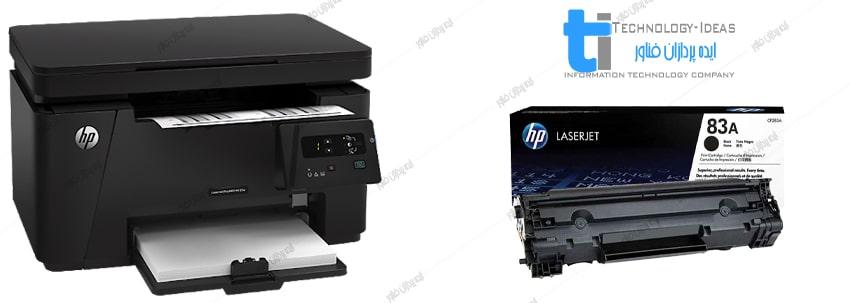 تعمیر پرینتر اچ پی HP LaserJet M125