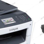 تعمیر پرینتر لکسمارک Lexmark LaserJet MX 417 DE